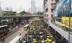 Democracy protesters again take to HK streets