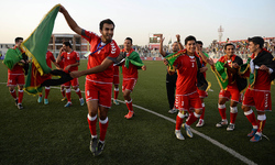 Afghans arrive for Pakistan friendly