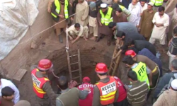 Five children dead after madrassa well collapses
