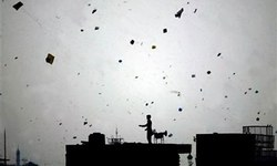 Basant under an empty sky