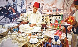 Food and music from Morocco