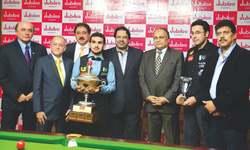 Brilliant Hamza tames Shahram to recapture snooker crown