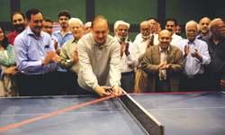 Tabish stuns ex-national champion Saleem