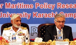 World's navies need to cooperate, says defence minister