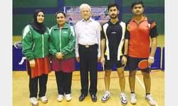 Salman, Ghalia bag titles at Masters Cup