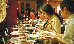 Chinese food festival begins in city