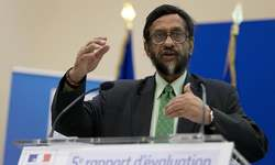 UN climate panel's Indian head steps down amid sex claims
