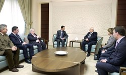 French lawmakers meet Assad; Paris distances itself from meeting