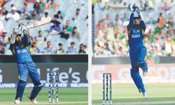 Imperious Dilshan, Sangakkara lead SL rout of Bangladesh