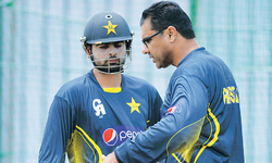 Shehzad fit for Zimbabwe clash despite ankle injury