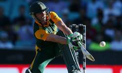 Unbelievable de Villiers powers South Africa to 408 against West Indies