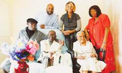 Joint birthday party for NY couple married 82 years ago