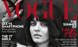Aishwarya debuts edgy new look in Indian Vogue