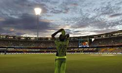 In-pictures: Pakistan players pull up their socks, register first World Cup win