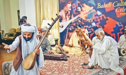 Baloch tunes woo music lovers