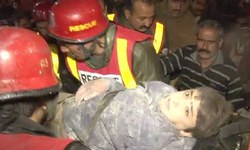 Roof collapse kills four FC personnel, three injured