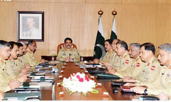 COAS chairs corps commanders conference