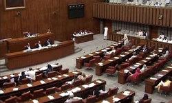 Opposition senators continue protest against corridor route change