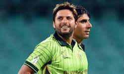 Afridi joins 8,000 one-day run club
