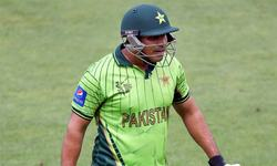 Two down, Nasir Jamshed to go