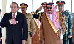 Nawaz Sharif holds talks with Saudi King Salman