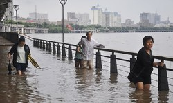 'India, Bangladesh, China most at risk from river floods'
