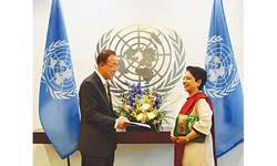 UN chief urged to redouble efforts for South Asia peace