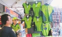 Jerseys sell well amid Pakistan win