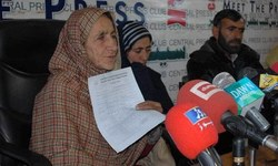 Shafqat Hussain's mother submits mercy appeal
