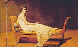 Artichive: Portrait of Madame Récamier