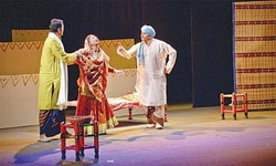 Napa International Theatre Fest: 'Akhiyan'— to see or not to see