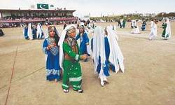 Celebrations in Quetta begin with sports festival