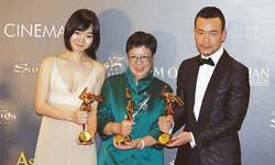 Macau hosts glittering Asian Film Awards