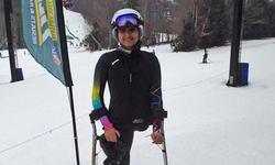 امریکا: معذور پاکستانی لڑکی کی اسکی ریس میں شرکت