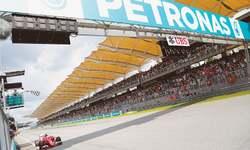 Vettel stuns Mercedes in Malaysia
