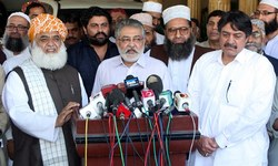 Fazl, Pagara call for APC on Yemen issue