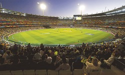 Carnival atmosphere at MCG as record crowd turns up