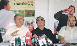 PTI intent on holding rally at Karachi's Jinnah Ground