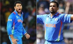 Yuvraj, Zaheer seek India comeback