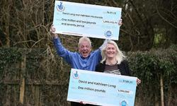 UK couple wins £1m in lottery for second time