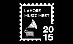Conversations about music in lively city