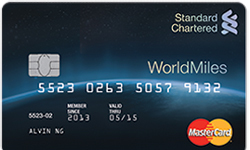 SCB launches WorldMiles card