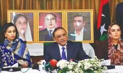Bilawal to enter politics gradually, says Zardari