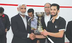 Nasir overpowers Danish to claim CNS Squash title