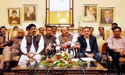 Qaim takes credit for restoration of peace to Karachi
