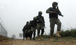 Indian shelling damages several houses