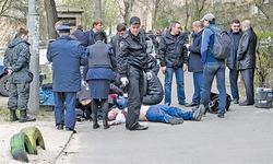 Pro-Russia journalist gunned down in Kiev