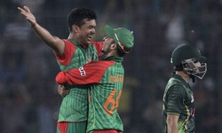 Bangladesh overpower Pakistan to end 16-year wait