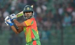 Blazing Tamim puts Bangladesh in front