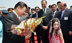 Xi Jinping's warm welcome in Pakistan